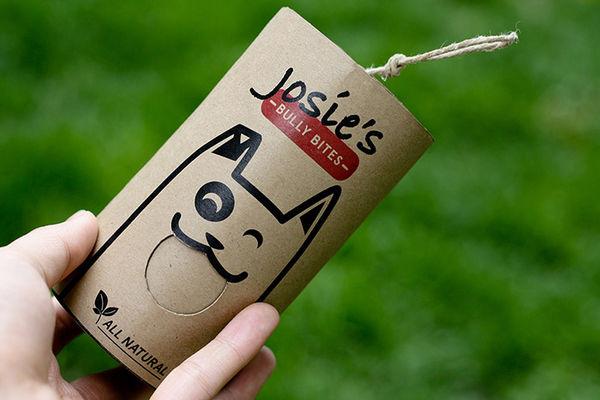 Cartoonish Dog Treat Branding