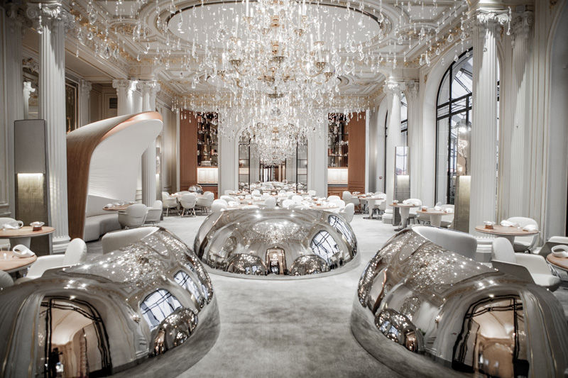 Luxuriously Reflective Restaurants