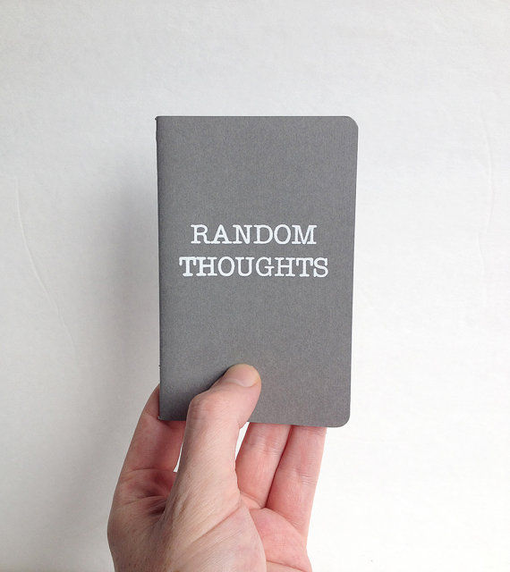 Spontaneous Thought Notebooks