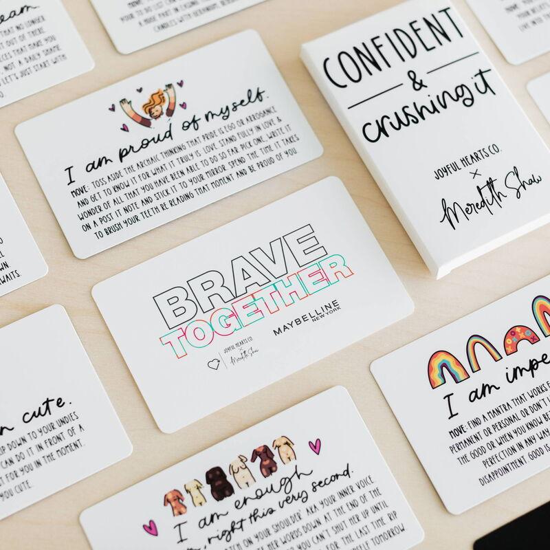 Confidence-Boosting Affirmation Cards