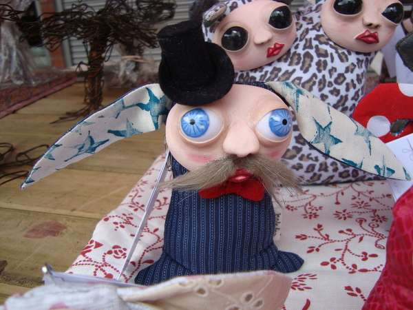 Bizarre Bug-Eyed Dolls
