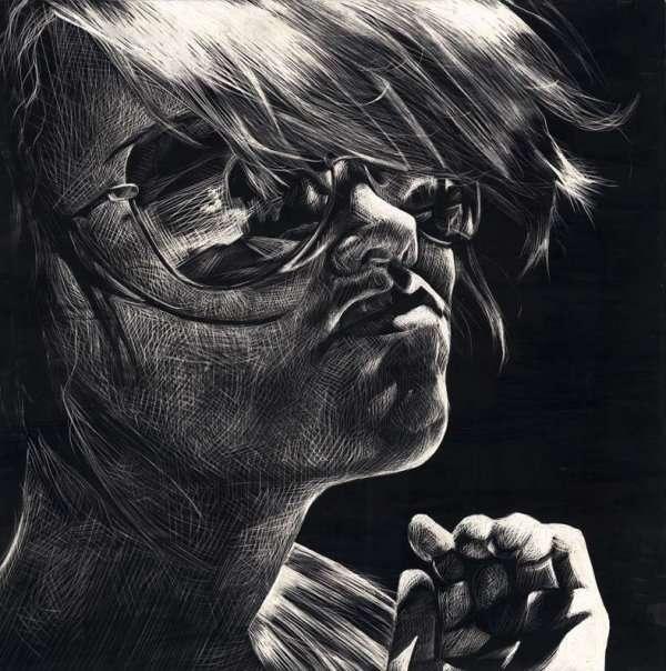 Hipster Sketch Art