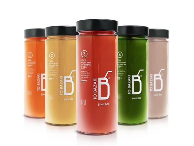 Vegetable Juice Jars