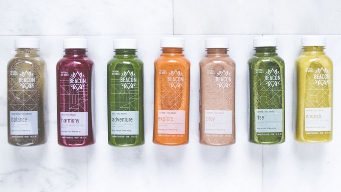Fiber-Infused Chia Juices