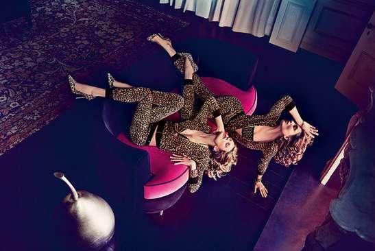 Vibrantly Edgy Fashion Ads