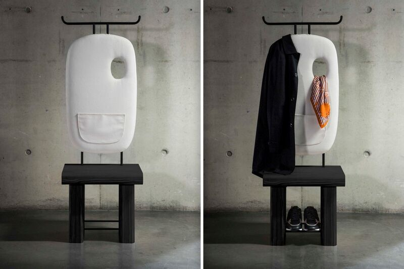 Storage-Friendly Valet Chairs