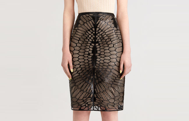 Digitally Manufactured Pencil Skirts