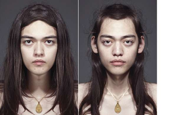 Scary Symmetrical Portraiture
