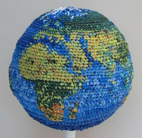 Upcycled Globes
