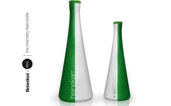 Sleek Sophisticated Beer Bottles