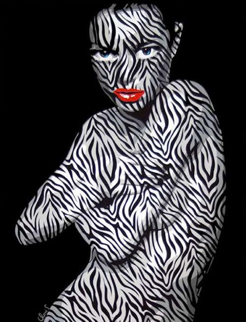 Zebra-Skinned Vixens