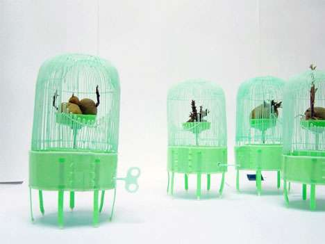 Musical Spud Cages