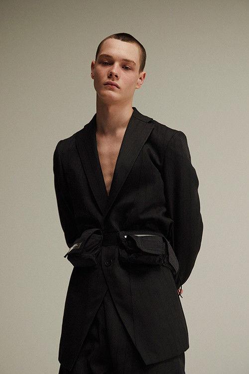 Monochromatic Avant-Garde Menswear