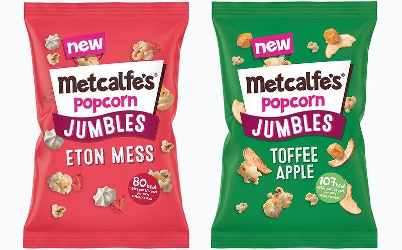 Textural Popcorn Snacks