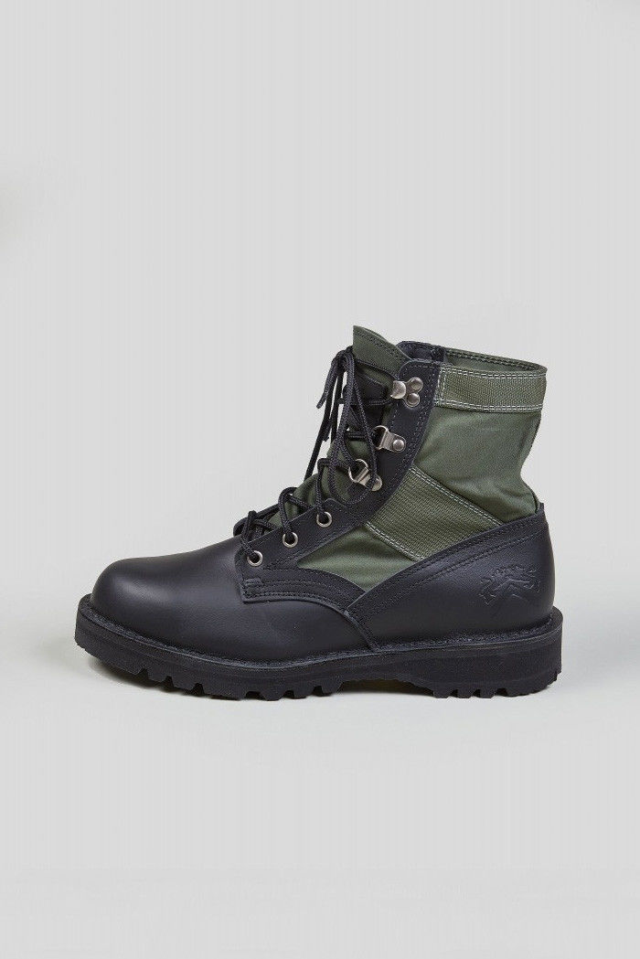 Heavy Duty Militaristic Boots