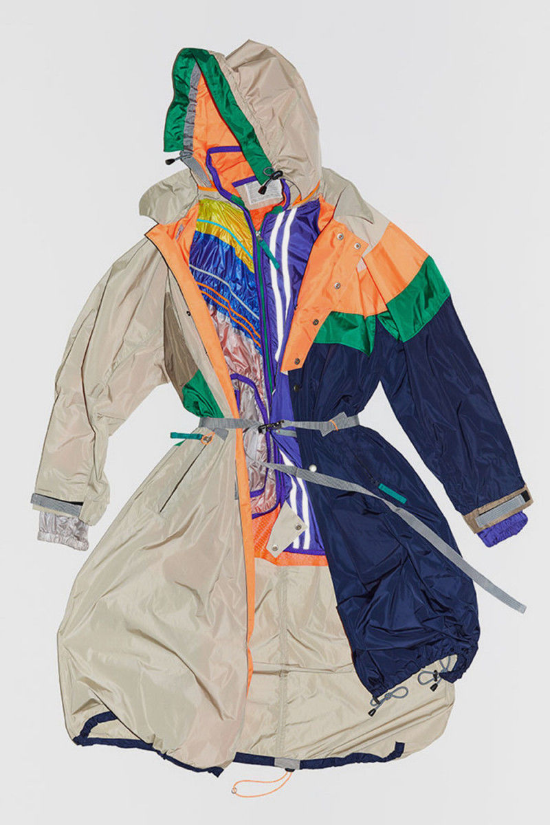 Puzzle-Themed Asymmetrical Jackets
