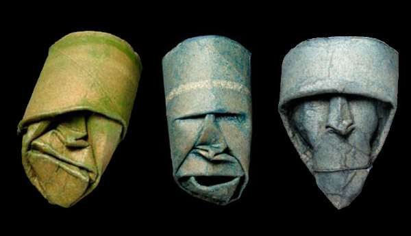 Recycled Paper Roll Visages