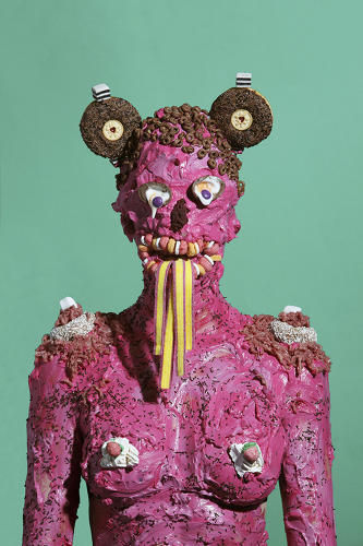 Humanized Junk Food Sculptures