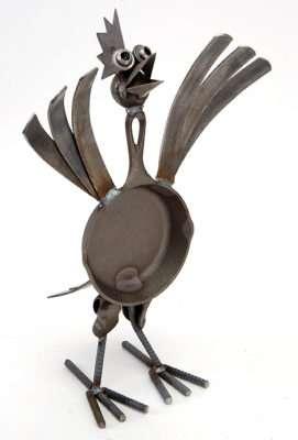 Junkyard Animal Sculptures