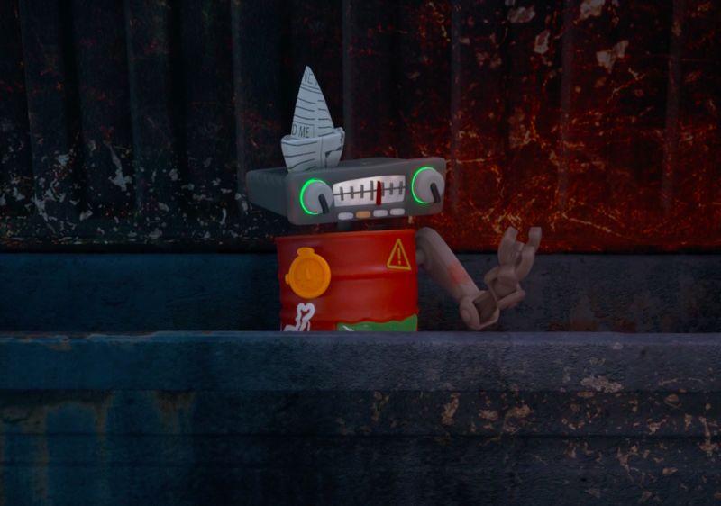 Junk-Inspired Robot Toys