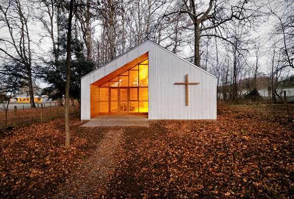 Rustic Woodland Churches