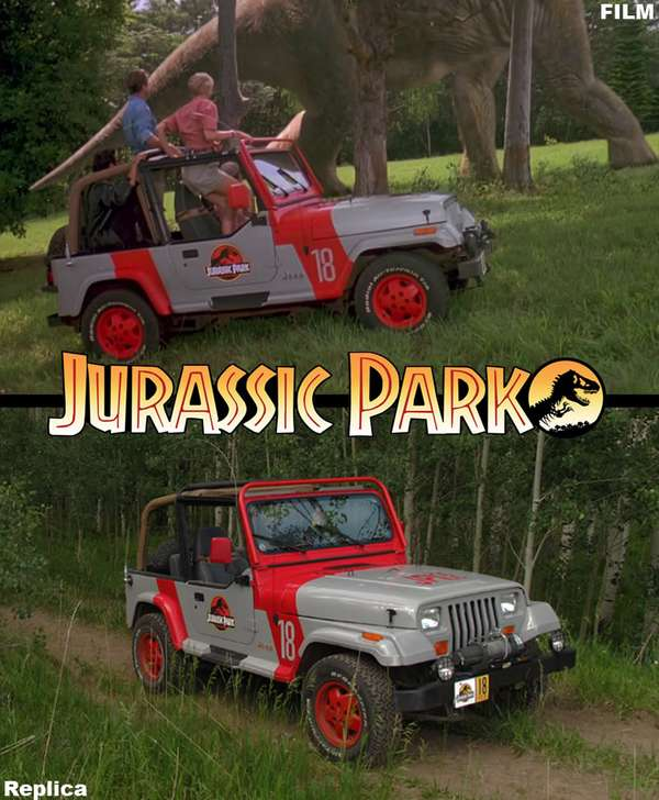Jurassic Park Jeep on 1993 ford explorer