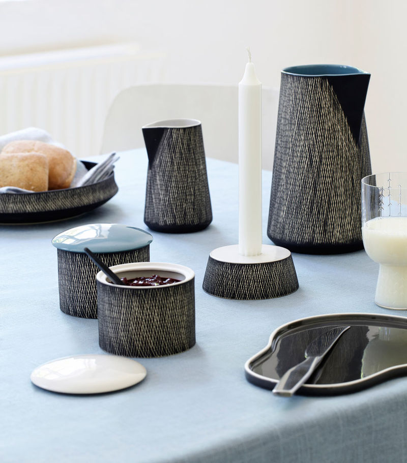 Contemporary Crisscross Dishware