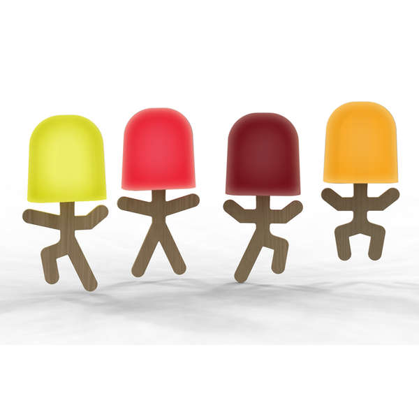 Personified Popsicle Treats
