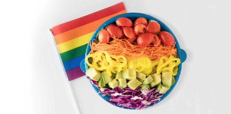 Pride Month-Celebrating Salads