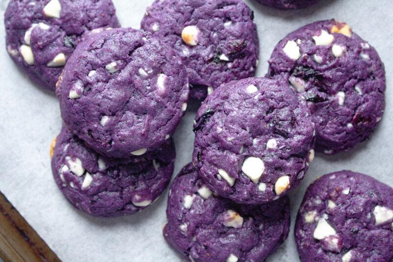 Viral Vegan Blueberry Cookies