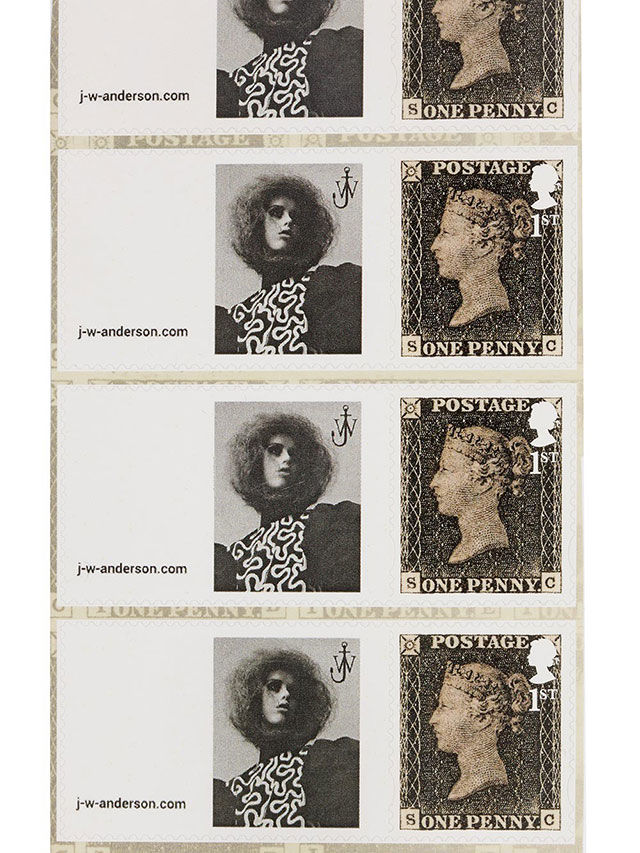 Postage Stamp Fashion Campaigns