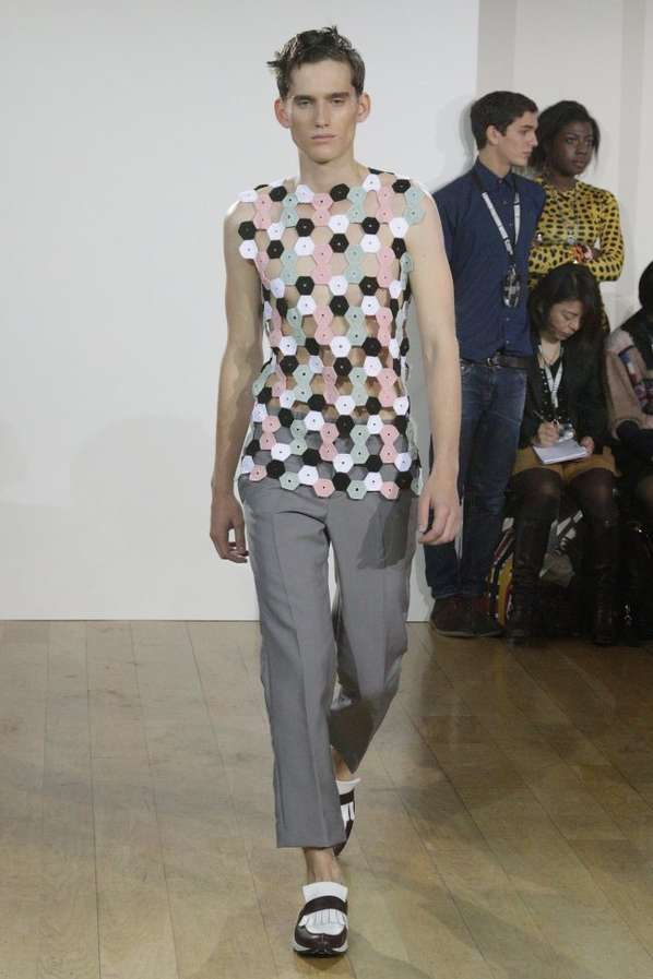 Plastic Honeycomb Menswear