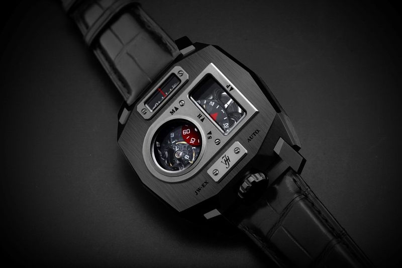 Bespoke Mechanical Timepieces - The JW-EX Timepiece Highlights Analog Components (TrendHunter.com)
