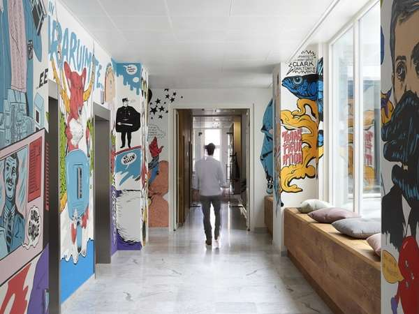 Graffiti-Clad Workspaces