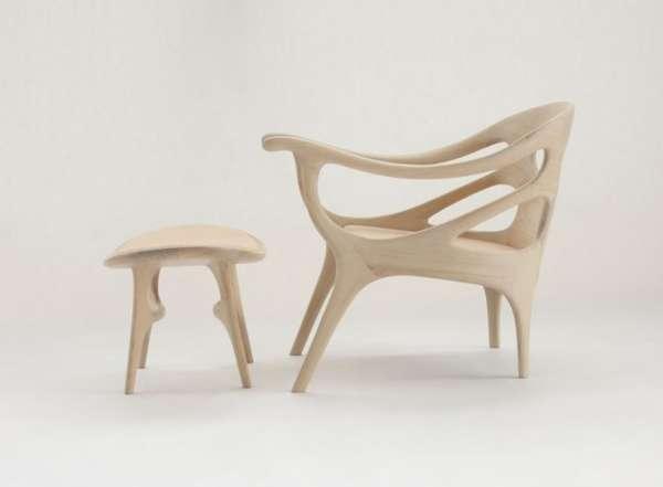 Skeleton-Styled Seating