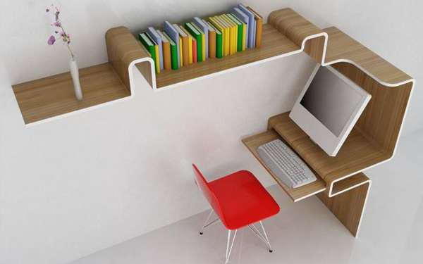 Space-Saving Escritoires