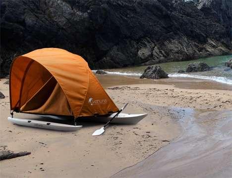 Hybrid Kayak Shelters