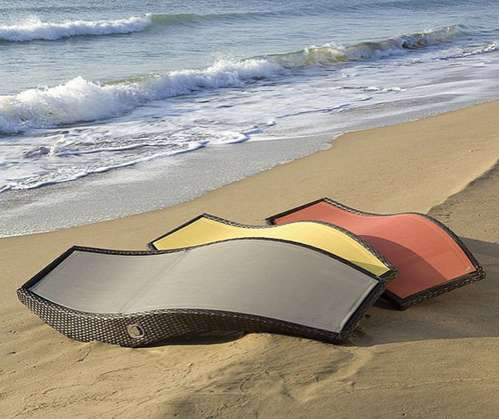 Undulating Sun Beds