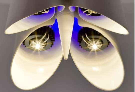 Metal Petal Pendant Lamps