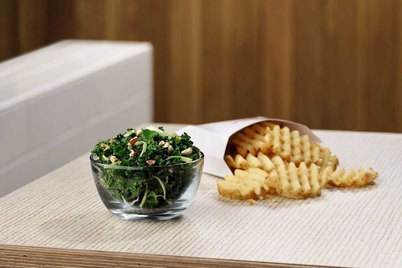 Crunchy Kale Side Salads