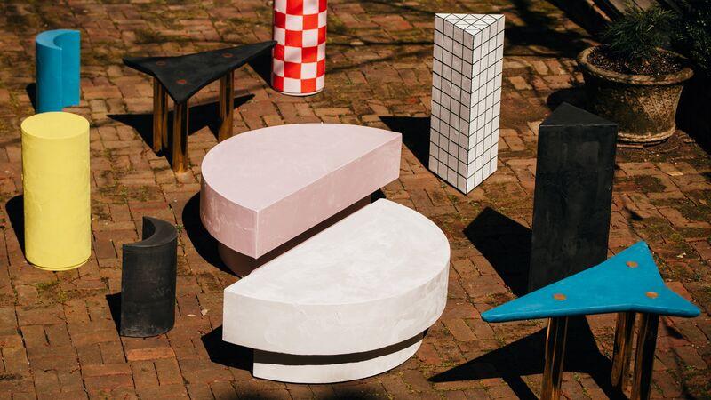 Bright Kaleidoscopic Furniture Designs