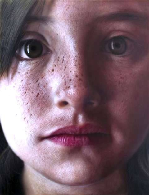 Soulful Photoreal Paintings