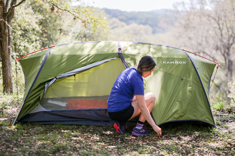 Two-in-One Camping Structures