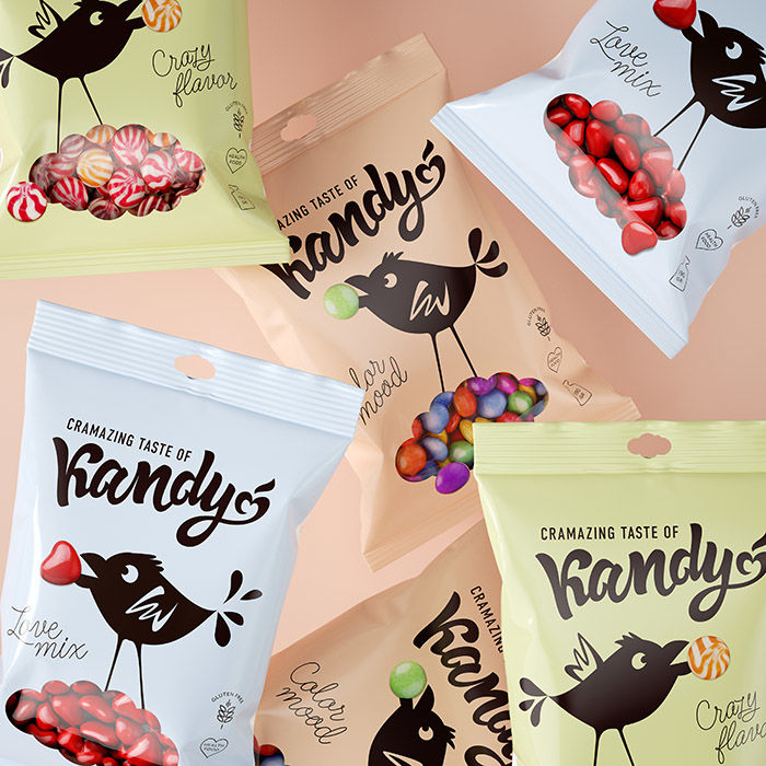 Cheeky Bird-Branded Candies