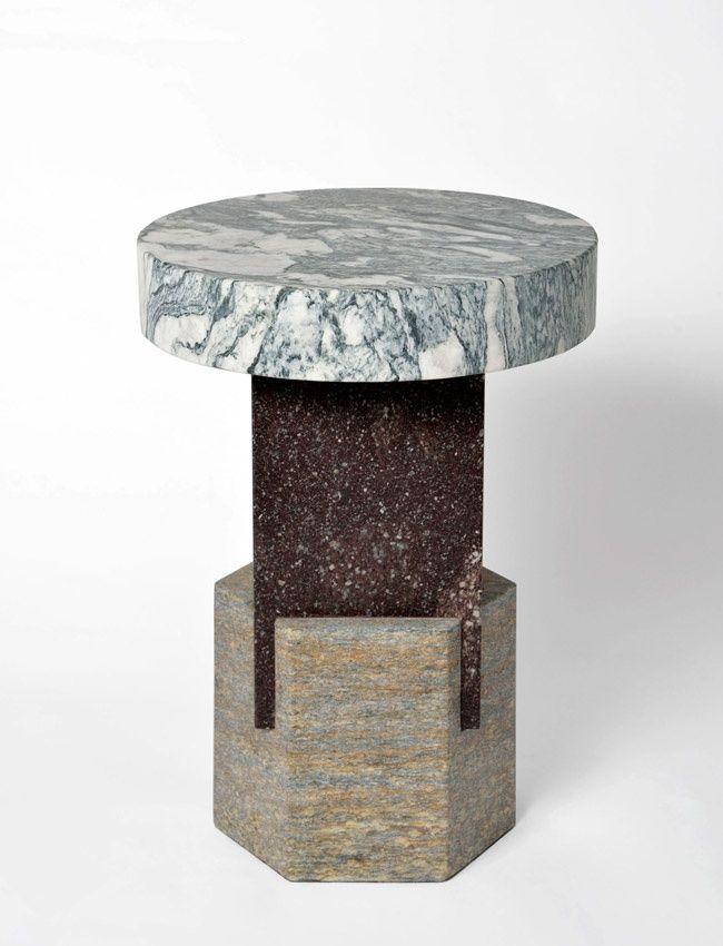 Layered Marble Furnishings