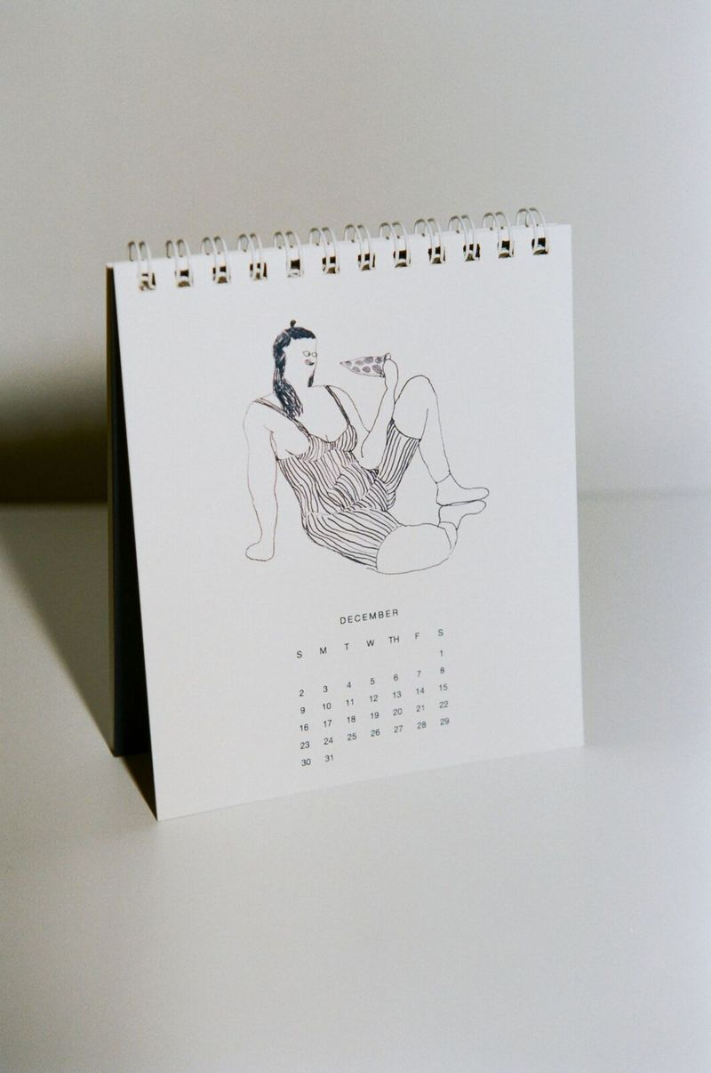 Body Positive Desk Calendars