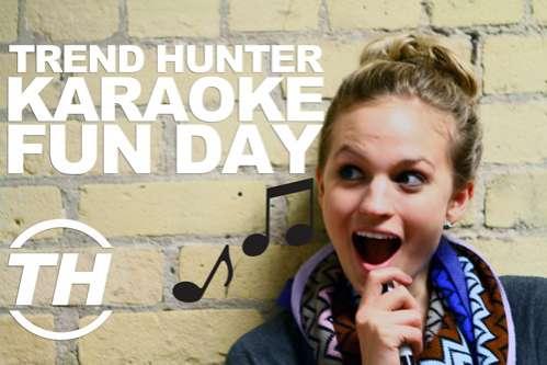 Karaoke Dance Parties: Trend Hunter Fun Day