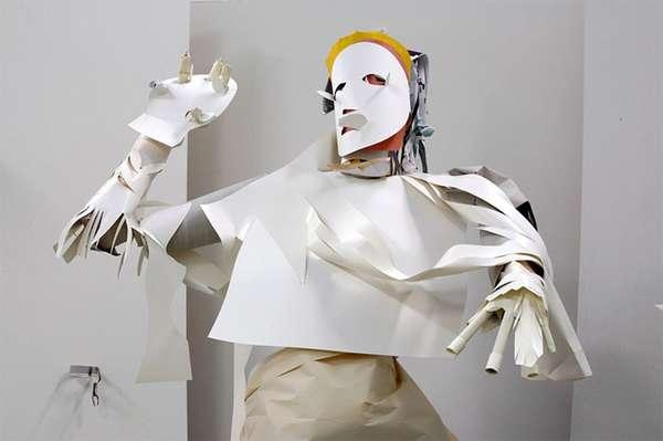 Life-Size Paper Sculptures