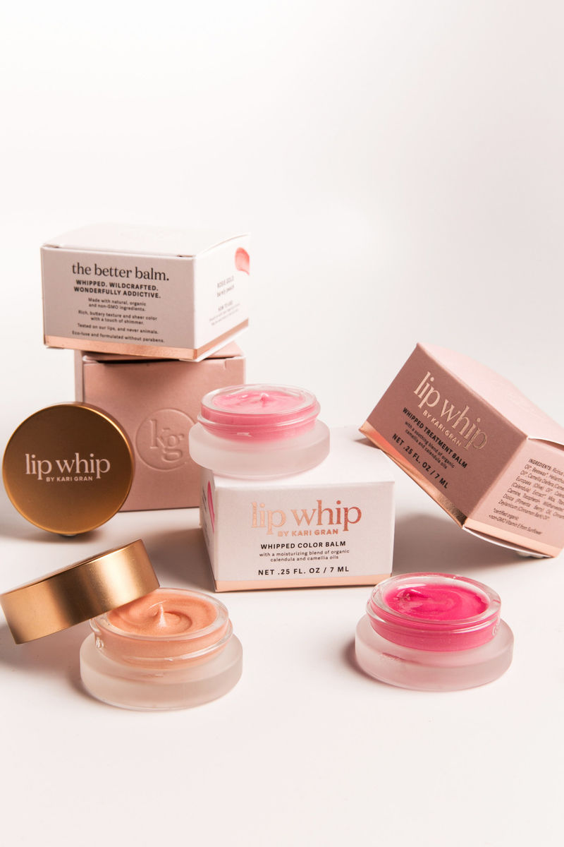 Whipped Wildcrafted Lip Balms