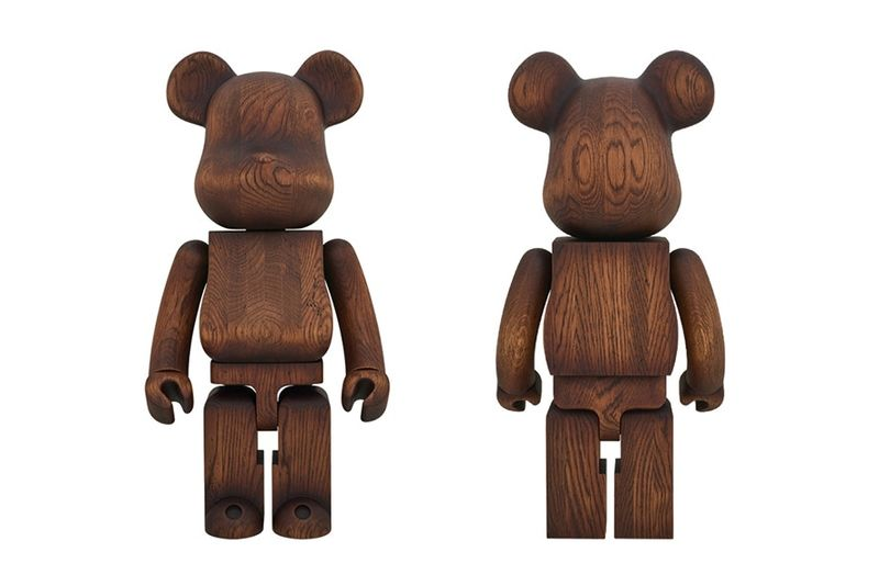 Exclusive Wooden Bear Models